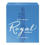 Royal Bb Clarinet Reeds, Box of 10