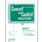Concert and Contest Collection, Oboe