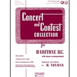 Concert and Contest Collection, Baritone BC