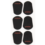 Protec Black Mouthpiece Cushions, Large (pack of 6)