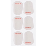 Protec Clear Mouthpiece Cushions, Large (pack of 6)