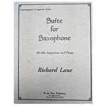 Suite for Saxophone (Lane)