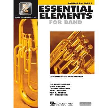 Essential Elements for Band Book 1 - Baritone Horn B.C.