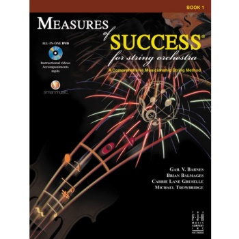Measures of Success for String Orchestra Book 1 - Double Bass