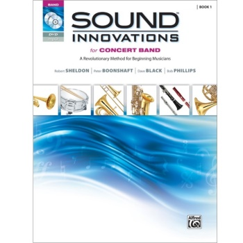 Sound Innovations for Concert Band Book 1 - Percussion: Snare Drum, Bass Drum, Accessories