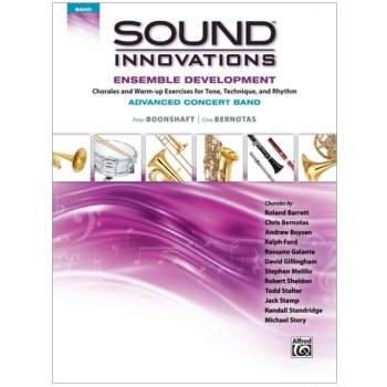 Sound Innovations Ensemble Development - Advanced Concert Band - Percussion 2