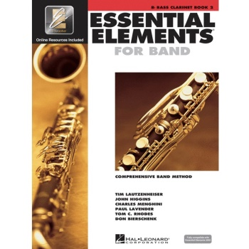 Essential Elements for Band Book 2 - Bb Bass Clarinet