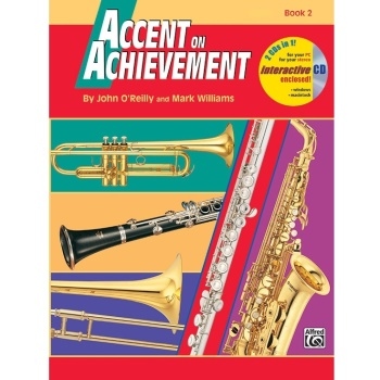 Accent on Achievement Book 2 - Tenor Saxophone