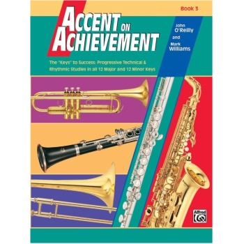 Accent on Achievement Book 3 - Alto Saxophone