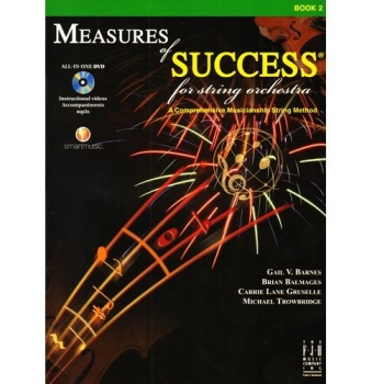 Measures of Success for String Orchestra Book 2 - Violin