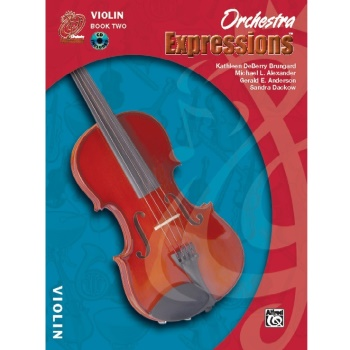 Orchestra Expressions Book 2 - Violin