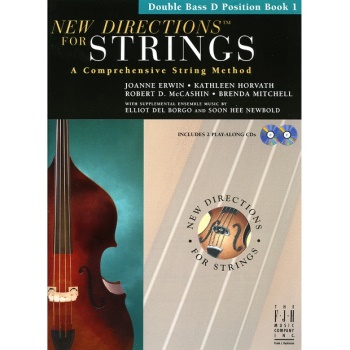 New Directions for Strings Book 1 - Double Bass, D Position