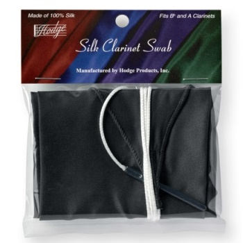 Silk Swab for Bb Clarinet (Black)