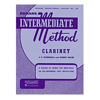Rubank Intermediate Method - Clarinet