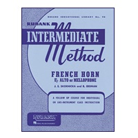 Rubank Intermediate Method - French Horn (F, Eb Alto or Mellophone)