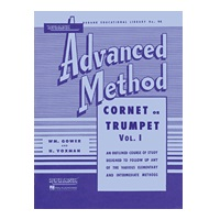 Rubank Advanced Method - Cornet or Trumpet, Volume 1