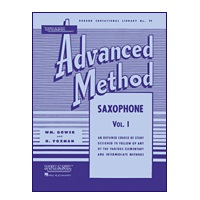 Rubank Advanced Method - Saxophone, Volume 1