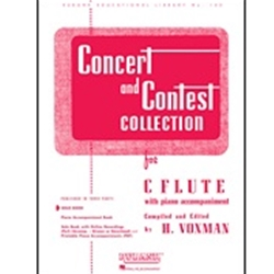 Concert and Contest Collection, Flute