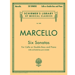 Six Sonatas for Cello or Double Bass (Marcello)