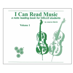 I Can Read Music Volume 1, Cello